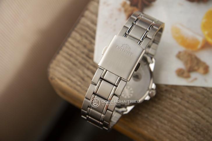 Đồng hồ Orient SUNE5003B0 tông bạc sang trọng, nam tính - Ảnh 4