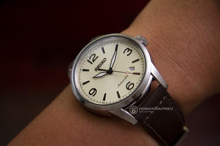 Đồng hồ Seiko SRPB03J1 máy cơ, kính Sapphire chống trầy - Ảnh 1