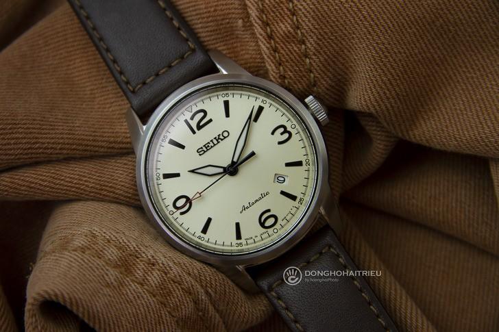 Đồng hồ Seiko SRPB03J1 máy cơ, kính Sapphire chống trầy - Ảnh 2
