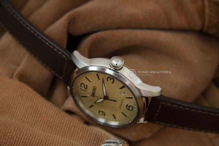Đồng hồ Seiko SRPB03J1 máy cơ, kính Sapphire chống trầy - Ảnh 3