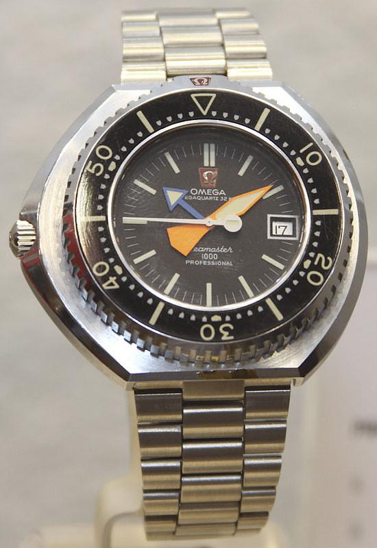 4 Nguyên Mẫu Đồng Hồ Lặn Omega Chưa Bao Giờ Được Sản Xuất Nguyên mẫu đồng hồ Omega Megaquartz Seamaster 1000