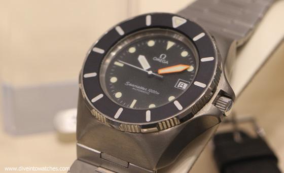 4 Nguyên Mẫu Đồng Hồ Lặn Omega Chưa Bao Giờ Được Sản Xuất Nguyên mẫu đồng hồ lặn Omega Seamaster 1000 Titanium