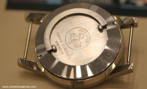 """4 Nguyên Mẫu Đồng Hồ Lặn Omega Chưa Bao Giờ Được Sản Xuất Nguyên mẫu vỏ đồng hồ """"Super Compressor"""""""
