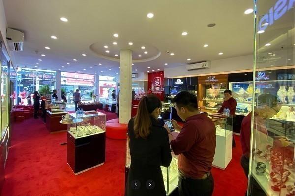 Cận cảnh bên trong showroom Hải Triều Quận 2