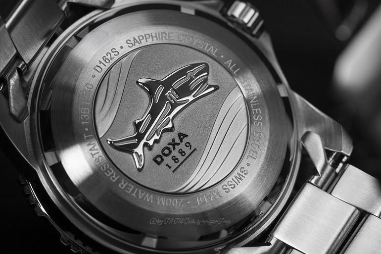 Doxa Shark, Bộ Sưu Tập Hiện Đại Của Bậc Thầy Đồng Hồ Lặn Doxa D162SBK