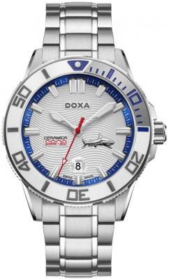 Doxa Shark, Bộ Sưu Tập Hiện Đại Của Bậc Thầy Đồng Hồ Lặn Doxa Shark Ceramica L - Mẫu D200SWH