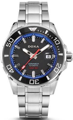 Doxa Shark, Bộ Sưu Tập Hiện Đại Của Bậc Thầy Đồng Hồ Lặn Doxa Shark Ceramica - Mẫu D127SBU