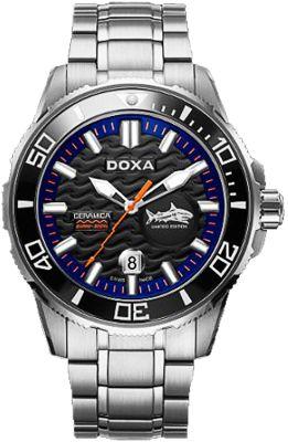 Doxa Shark, Bộ Sưu Tập Hiện Đại Của Bậc Thầy Đồng Hồ Lặn Doxa Shark Ceramica XL - Mẫu D137SBW