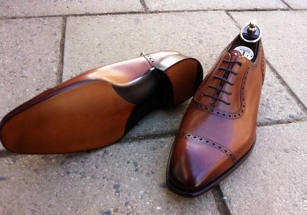 giày tây công sở cao cấp trên từng chi tiết thiết kế 2