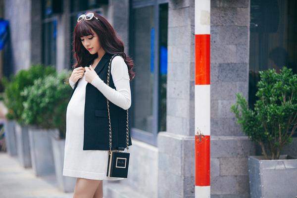 gợi ý cách phối trang phục bầu công sở đẹp và thoải mái 3