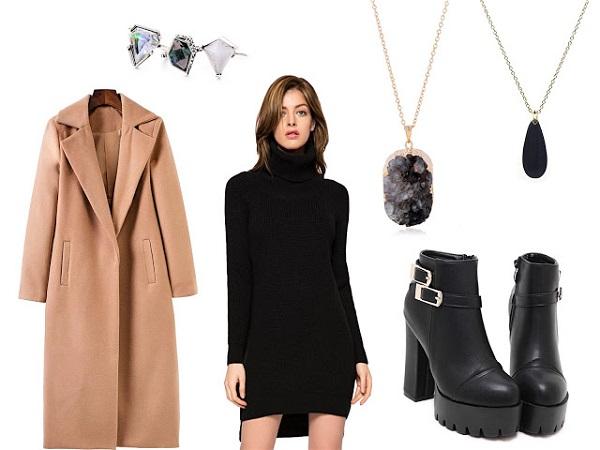 gợi ý phối váy công sở mùa đông thời thượng nhất 1