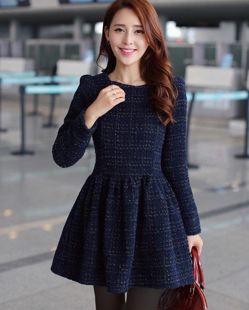 gợi ý phối váy công sở mùa đông thời thượng nhất 3