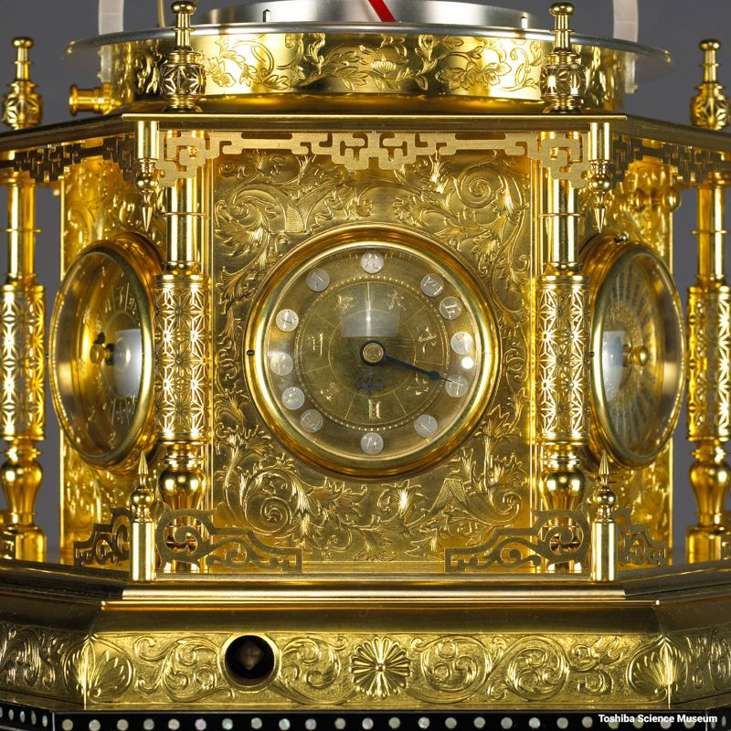 Mannen Jimeishou - Myriad Year Clock, Đồng Hồ Phức Tạp Nhất Nhật Bản Lịch Thứ