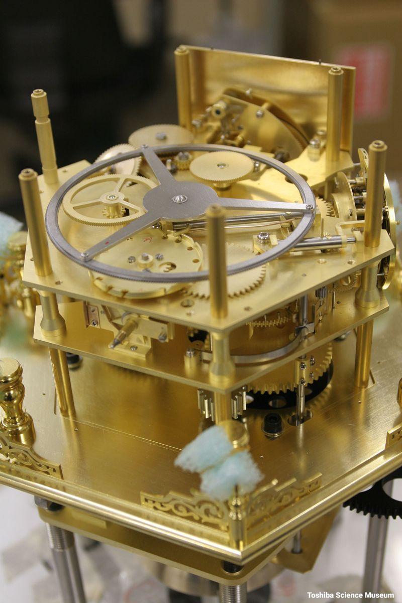 Mannen Jimeishou - Myriad Year Clock, Đồng Hồ Phức Tạp Nhất Nhật Bản Bên Trong Bản Sao