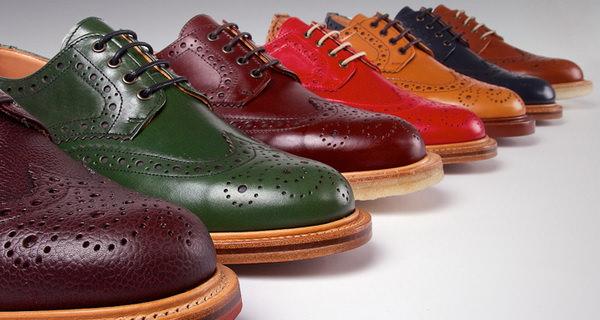 màu sắc giày công sở nam trên từng chi tiết thiết kế 2
