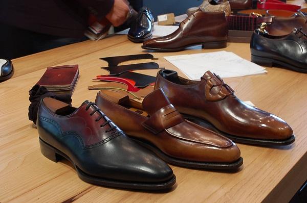màu sắc giày công sở nam trên từng chi tiết thiết kế 3