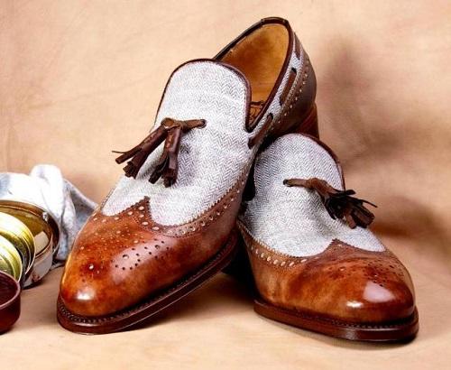 màu sắc giày công sở nam trên từng chi tiết thiết kế 5