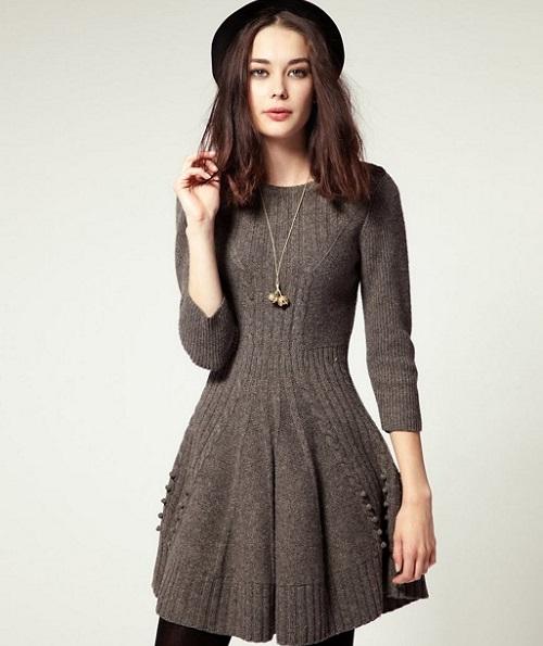 nên mua váy công sở mùa đông như thế nào 2