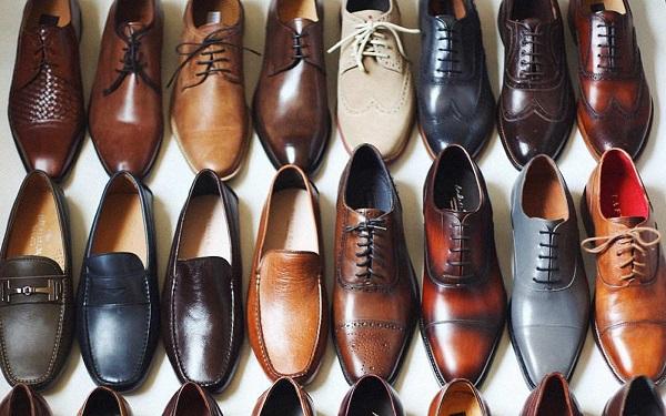 ngành công nghiệp giày công sở nam cao cấp 1