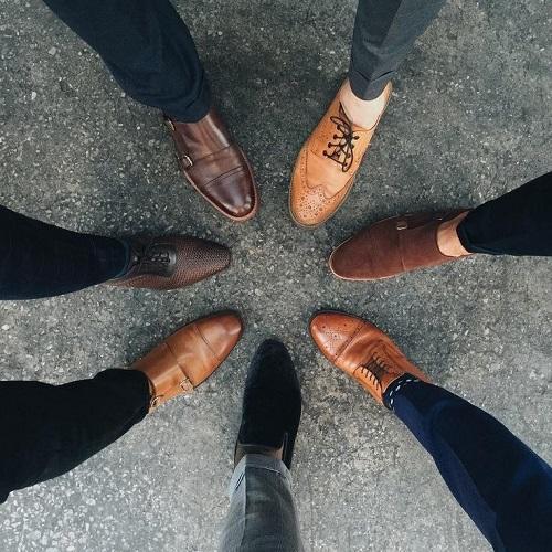 ngành công nghiệp giày công sở nam cao cấp 2