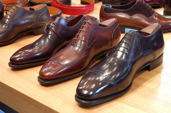 ngành công nghiệp giày công sở nam cao cấp 3