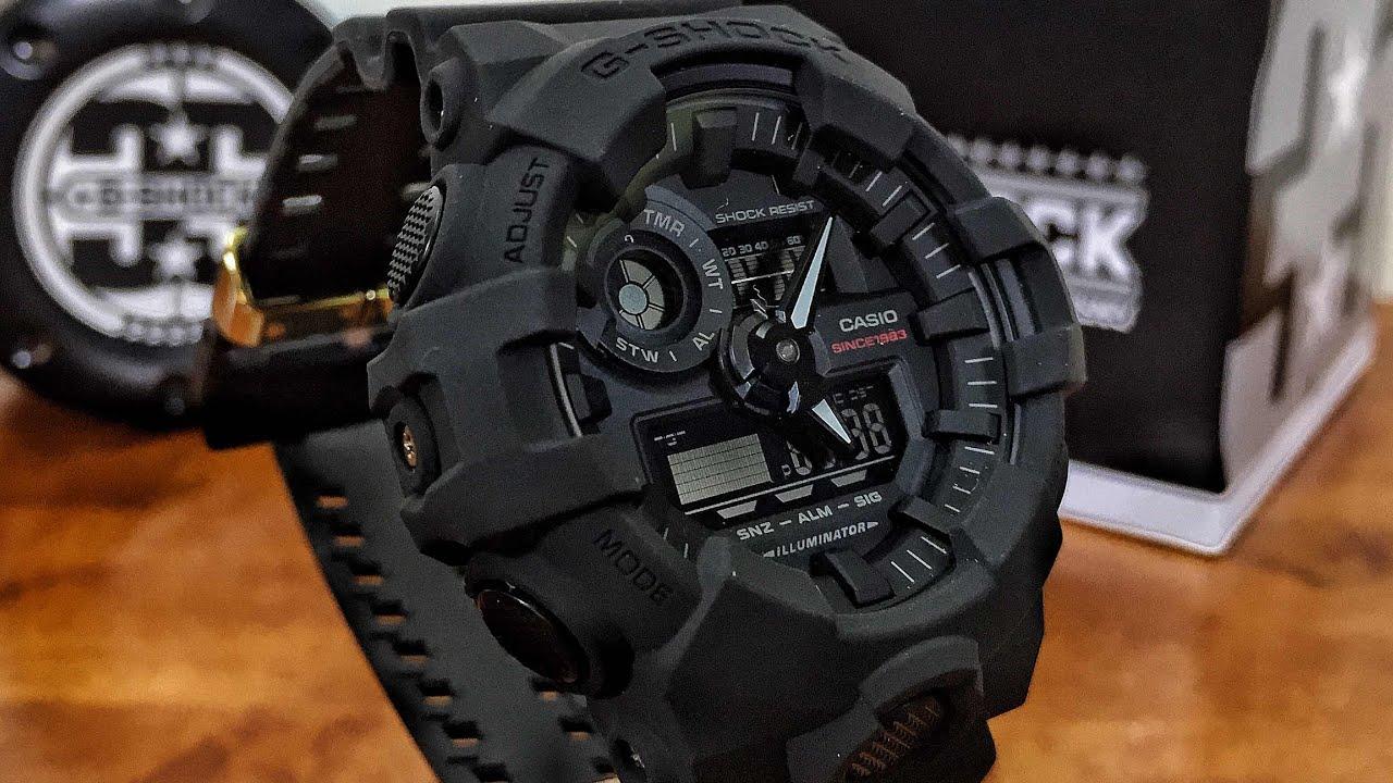 Nổ Tung G-Shock GA-735A-1A Và GA-835A-1A Đen Mờ 2