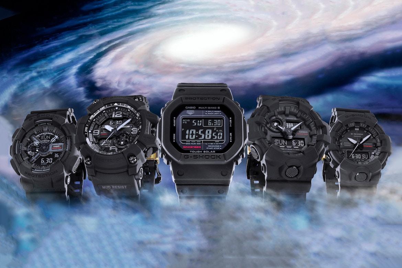 Nổ Tung G-Shock GA-735A-1A Và GA-835A-1A Đen Mờ 1