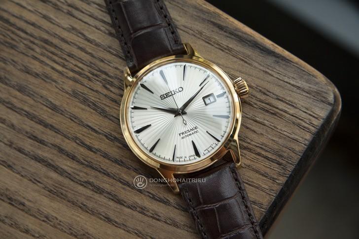 Đồng hồ Seiko SRPB44J1 Automatic, trữ cót lên đến 40 giờ - Ảnh 2