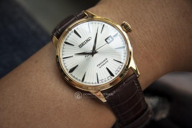 Đồng hồ Seiko SRPB44J1 Automatic, trữ cót lên đến 40 giờ - Ảnh 3