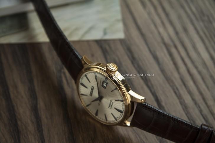 Đồng hồ Seiko SRPB44J1 Automatic, trữ cót lên đến 40 giờ - Ảnh 6