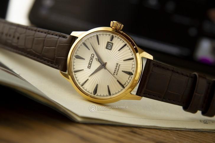Đồng hồ Seiko SRPB44J1 Automatic, trữ cót lên đến 40 giờ - Ảnh 8