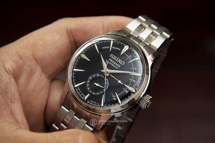 Đồng hồ Seiko SSA347J1 ngoại hình sang trọng, máy Automatic - Ảnh 3