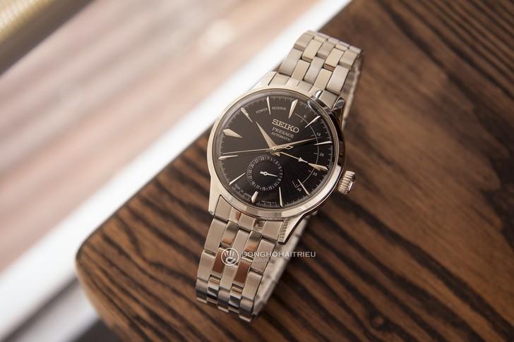 Đồng hồ Seiko SSA347J1 ngoại hình sang trọng, máy Automatic - Ảnh 6
