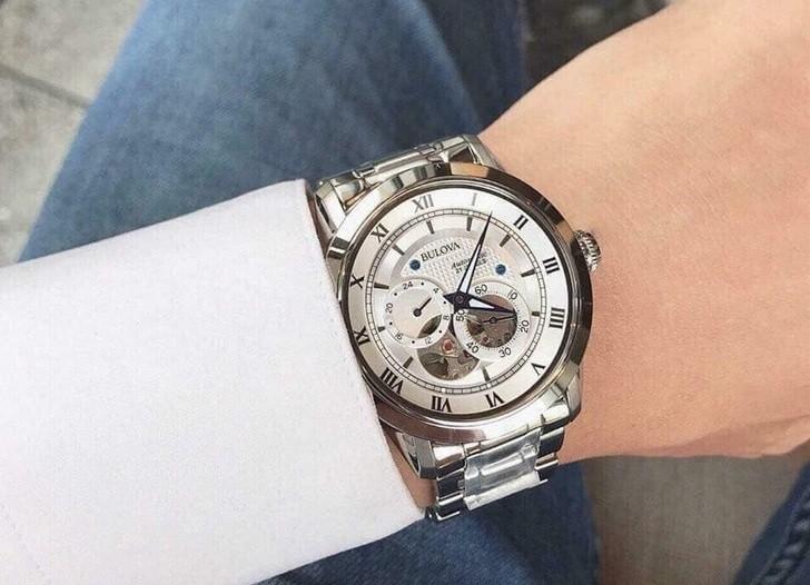 Đánh giá đồng hồ Bulova 96A118 từ bên ngoài lẫn bên trong - Ảnh 3