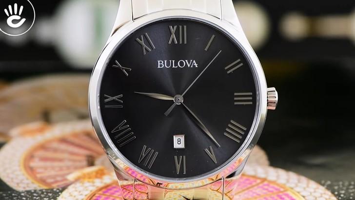 Đồng hồ Bulova 96B261 lịch lãm, miễn phí thay pin trọn đời - Ảnh 2