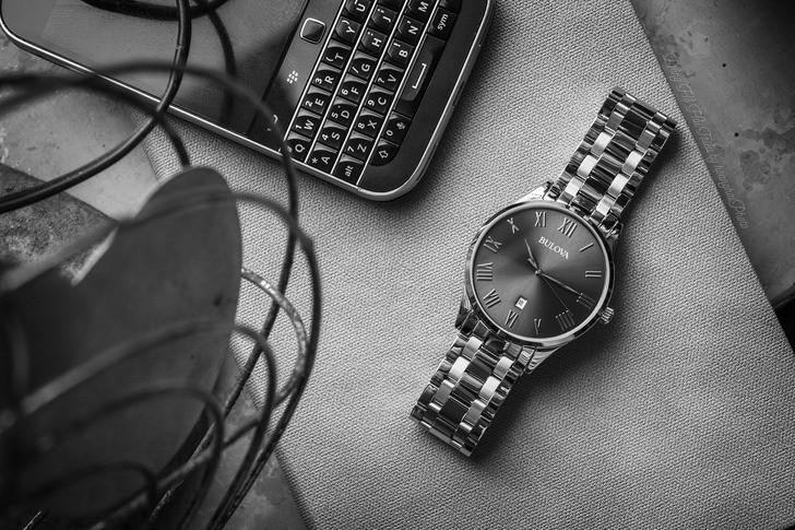 Đồng hồ Bulova 96B261 lịch lãm, miễn phí thay pin trọn đời - Ảnh 7