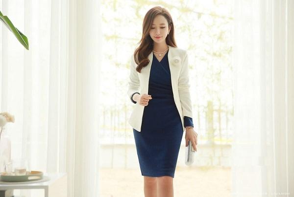 các loại vải dùng cho mãu váy vest công sở đẹp 2