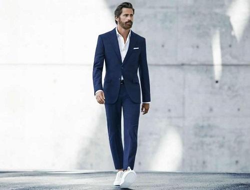 cách phối áo sơ mi trắng nam công sở thời trang nhất 5