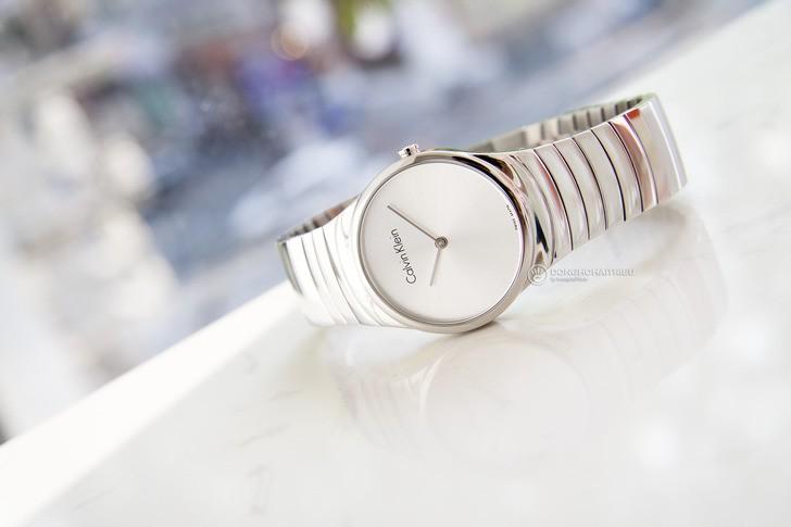 Đồng hồ nữ Calvin Klein K8A23146 dây kim loại sang trọng - Ảnh 1