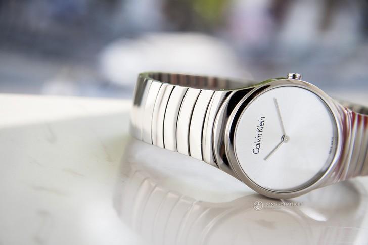 Đồng hồ nữ Calvin Klein K8A23146 dây kim loại sang trọng - Ảnh 2