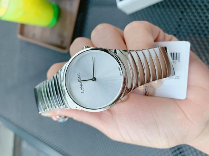Đồng hồ nữ Calvin Klein K8A23146 dây kim loại sang trọng - Ảnh 3