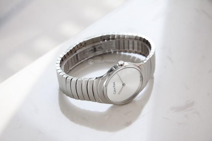 Đồng hồ nữ Calvin Klein K8A23146 dây kim loại sang trọng - Ảnh 5