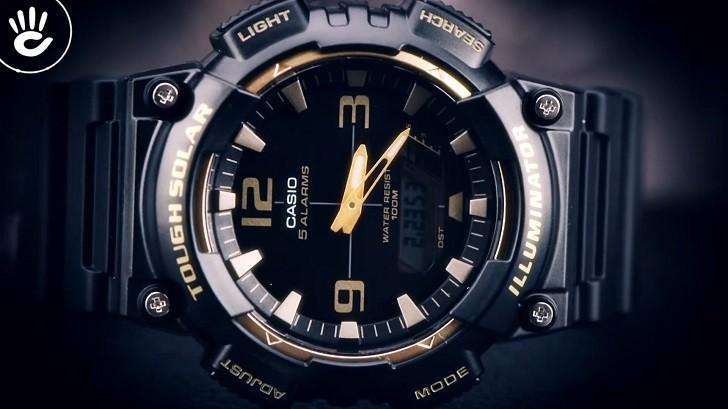 Đồng hồ Casio AQ-S810W-1A3VDF dùng công nghệ Tough Solar - Ảnh 2