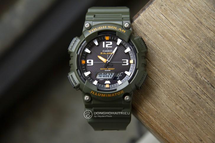 Đồng hồ Casio AQ-S810W-3AVDF năng lượng ánh sáng bền bỉ - Ảnh 1