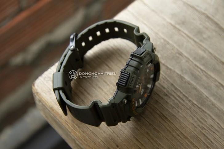 Đồng hồ Casio AQ-S810W-3AVDF năng lượng ánh sáng bền bỉ - Ảnh 5