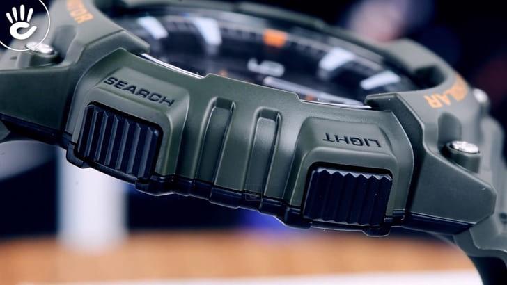 Đồng hồ Casio AQ-S810W-3AVDF năng lượng ánh sáng bền bỉ - Ảnh 6