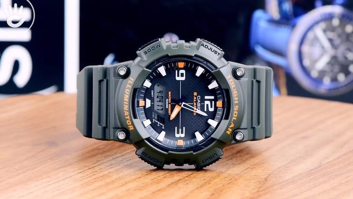 Đồng hồ Casio AQ-S810W-3AVDF năng lượng ánh sáng bền bỉ - Ảnh 8