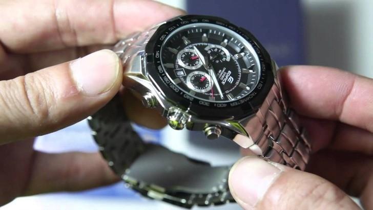 Đồng hồ Casio Edifice EF-540D-1AVUDF bảo hành 5 năm, Free thay pin - Ảnh: 3