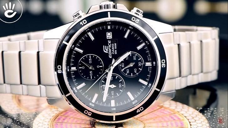 Đồng hồ Casio EFR-526D-1AVUDF giá rẻ, thay pin miễn phí - Ảnh 1