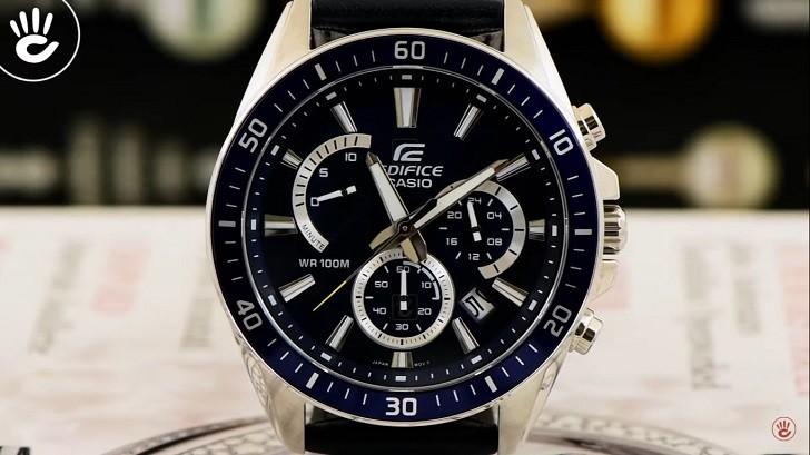 Đồng hồ Casio EFR-552L-2AVUDF giá rẻ, thay pin miễn phí - Ảnh 5